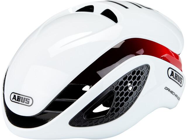 ABUS GameChanger Helm, wit/rood